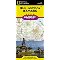 Bali, Lombok, and Komodo [Indonesia] (National Geographic Adventure Map, 3005)