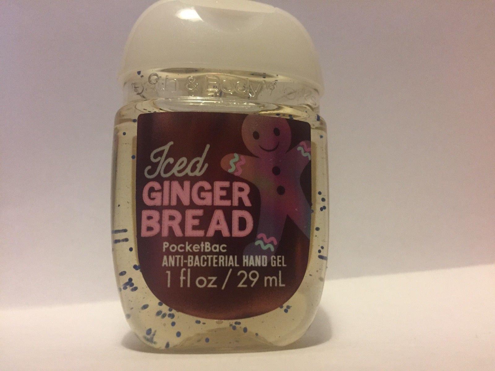 Bath & Body Works PocketBac Hand Gel Sanitizer Iced Gingerbread