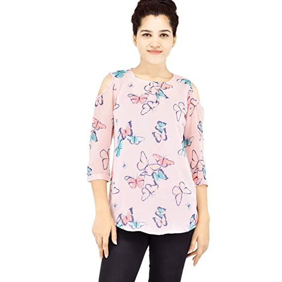 611e6f709948fc VR Designers Women s Cold Shoulder Top  Amazon.in  Clothing ...