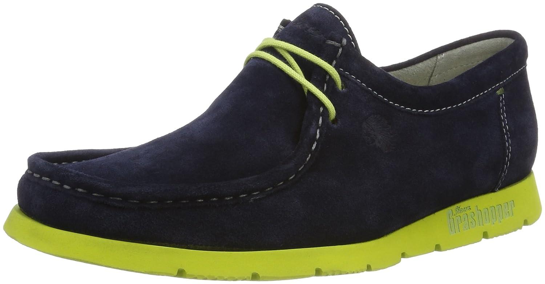 Sioux Grashopper-H-141, Mocasines para Hombre, Blau (Atlantic/hellgrün), 41 EU: Amazon.es: Zapatos y complementos