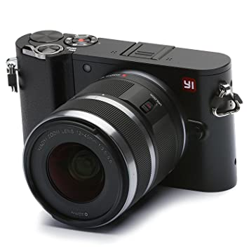 YI M1 4K 20 MP Mirrorless Digital Camera with Interchangeable Lens 12-40mm F3.