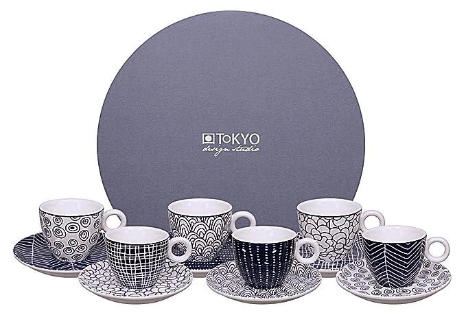 1 opinioni per Set per espresso Tokyo Design Studio Le Bleu De Nîmes (12 pezzi)