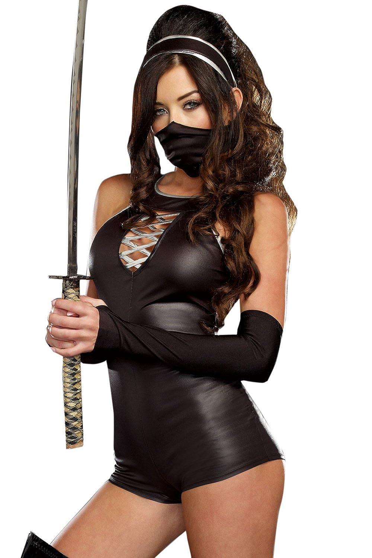 Amazon.com: Sexy Ninja Beauty International Costume: Clothing