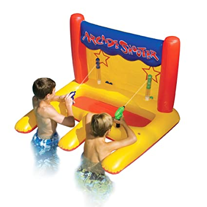 Outstanding 45 Inflatable Arcade Shooter Target Swimming Pool Game Andrewgaddart Wooden Chair Designs For Living Room Andrewgaddartcom