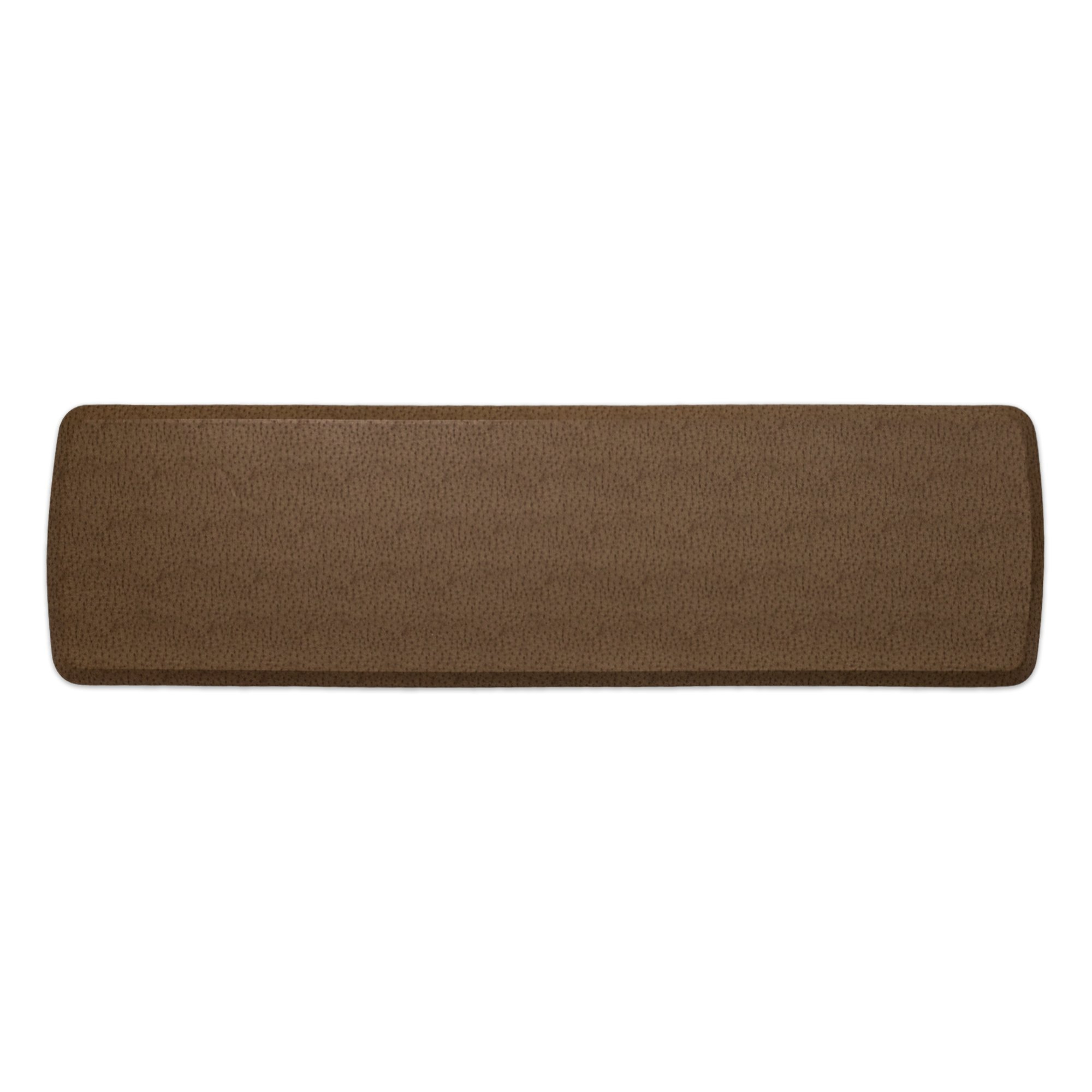 """GelPro Elite Premier Anti-Fatigue Kitchen Comfort Floor Mat, 20x72"""", Quill Toast Stain Resistant Surface with Therapeutic Gel and Energy-return Foam for Health and Wellness"""