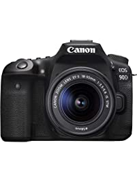 Canon 90D Digital SLR Camera with 18-55 is STM Lens