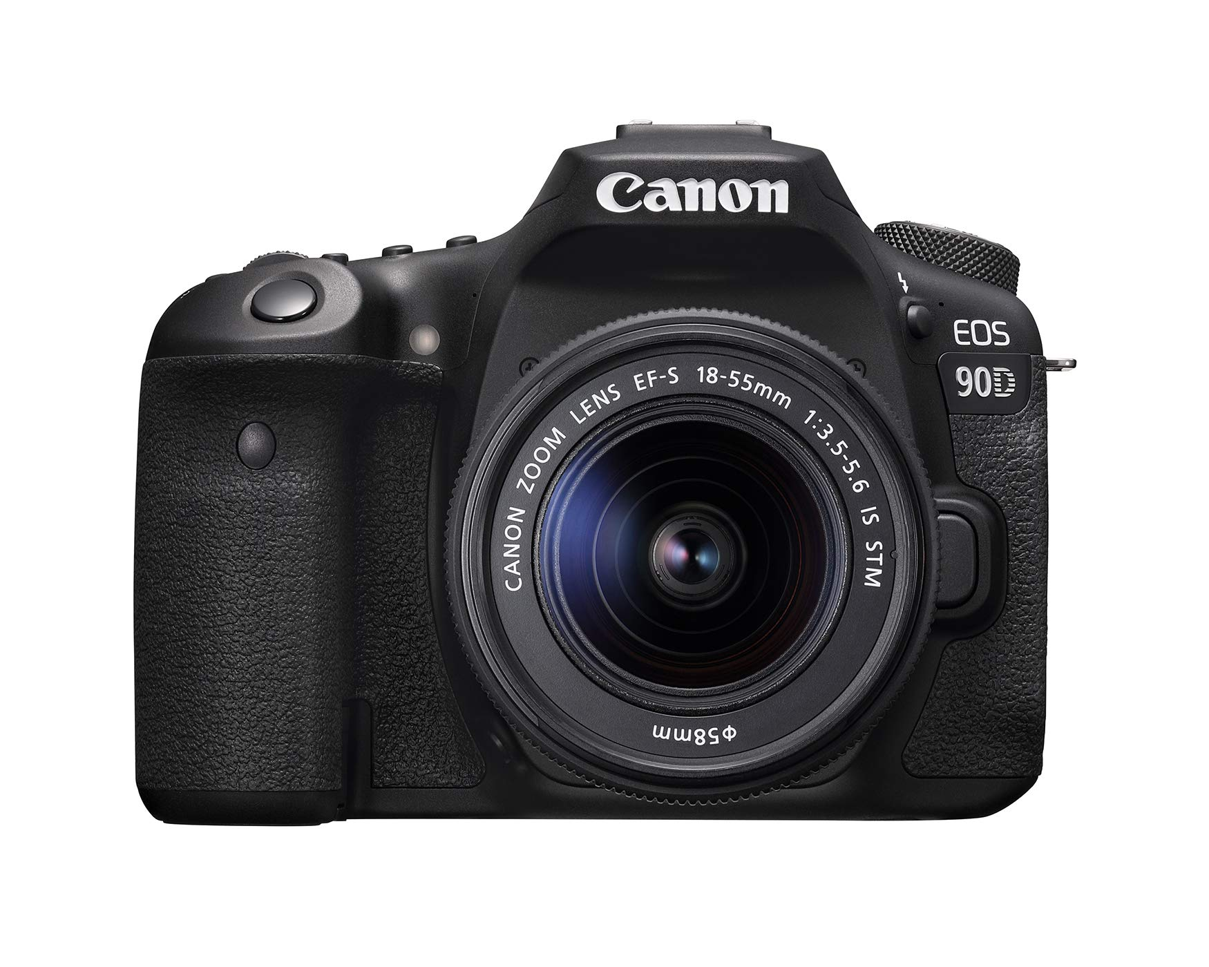 Canon 90D Digital SLR Camera with 18-55 is STM Lens by Canon