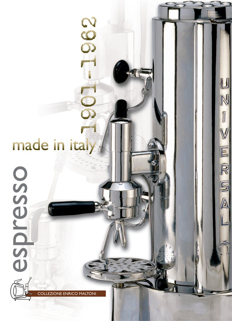 Espresso made in Italy 1901-1962