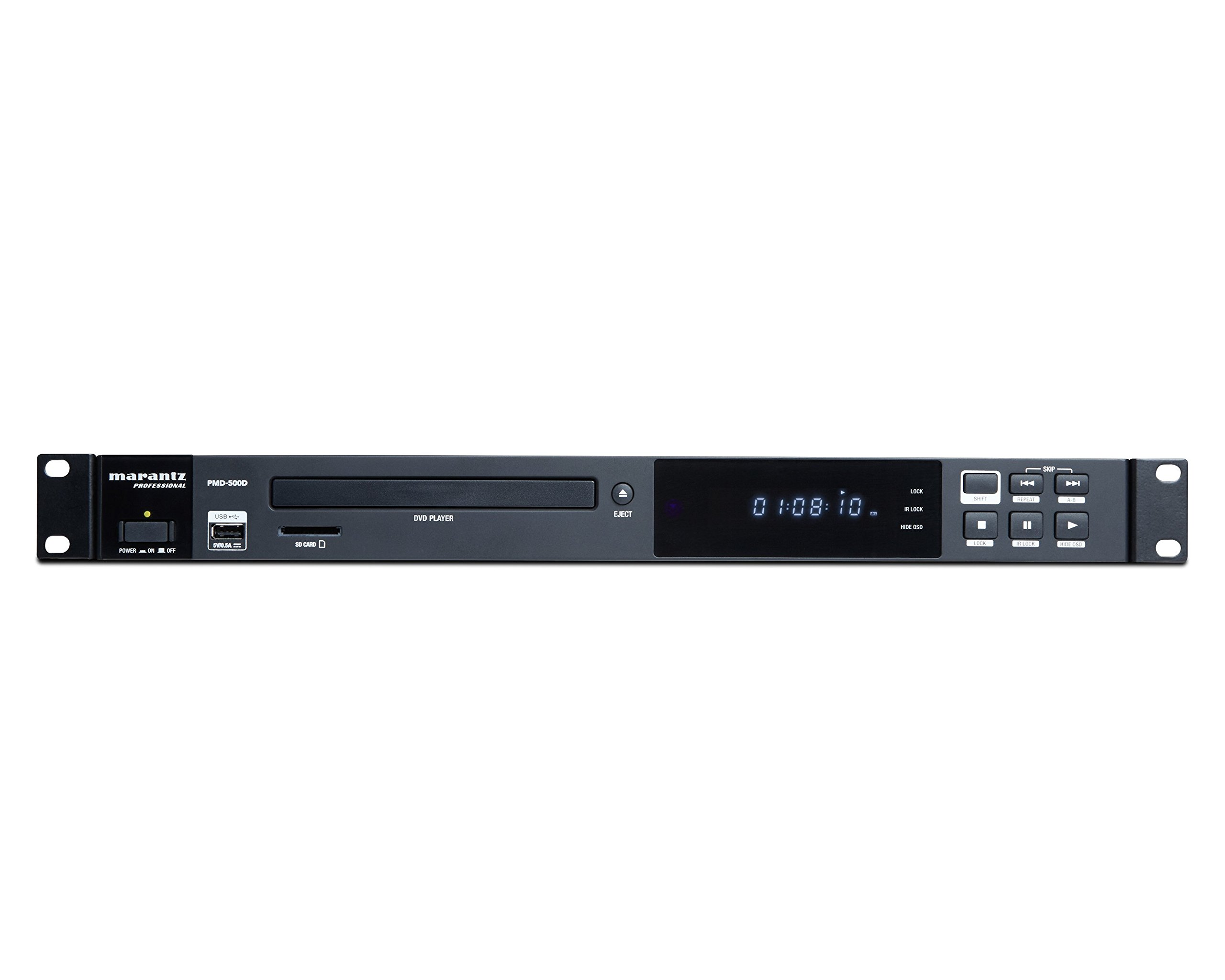 Marantz Professional PMD-500D | Commercial Media Player for DVD, SD/SDHC, and USB with Multi-Output Options by Marantz Professional