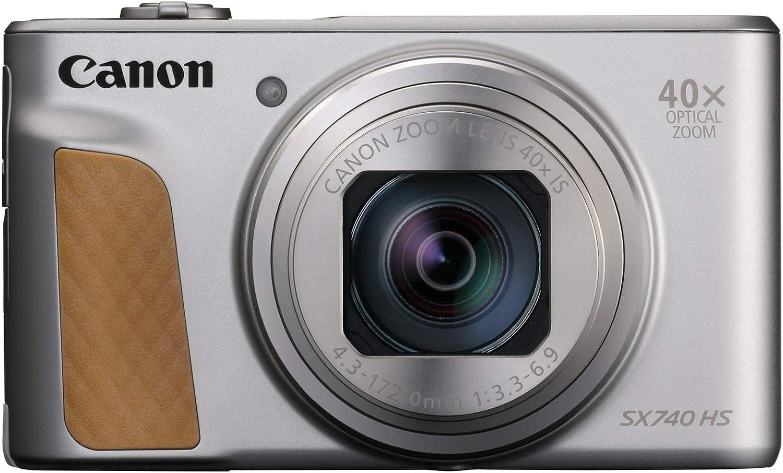 Canon Powershot SX740 HS - Cámara Compacta de 20.3 MP (40 x Zoom ...