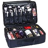 "GreenLife® Large 16"" Professional makeup Train Case Cosmetic Toiletry bag Travel Make up artist master Organizer Waterproof P"