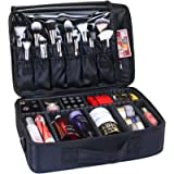 GreenLife® Large Professional makeup Train Case Cosmetic Toiletry bag Travel Make up artist master Organizer Waterproof…