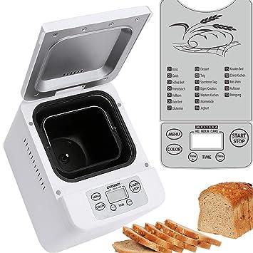 Melissa 16260010 – Panificadora (con preparación automática de masa y pan, Panificadora para hacer