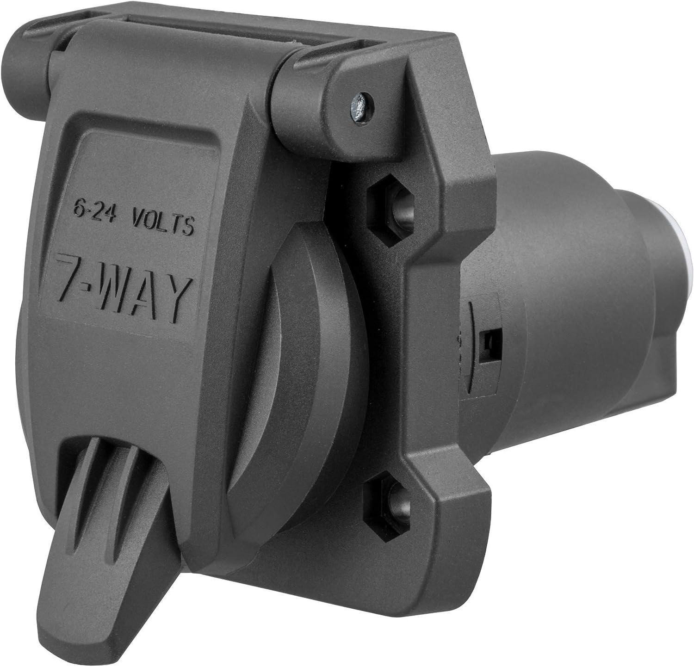 Brake Gauges 7-Pin Trailer Wiring CURT 58220 Vehicle-Side RV Blade ...
