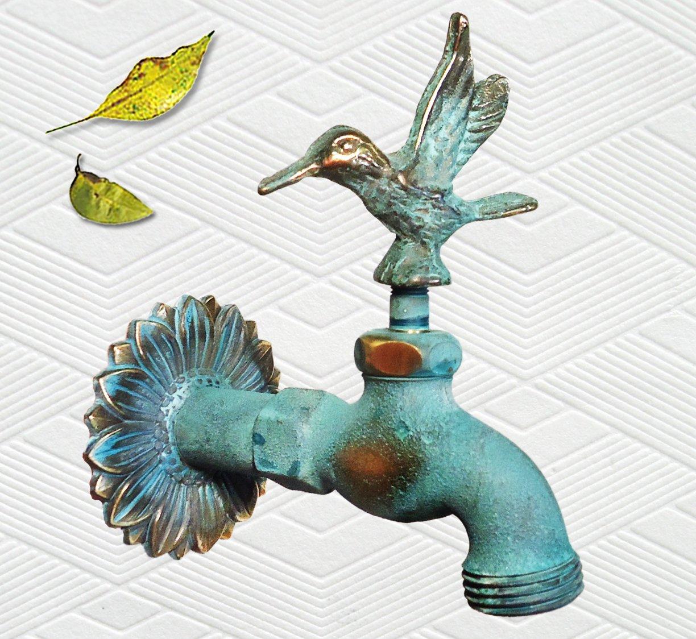 Amazon.com : Taiwan Brass Hummingbird Faucet : Outdoor Faucets ...