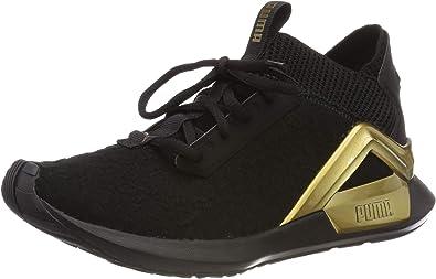 PUMA Rogue Sneaker Damen puma black metallic gold im Online
