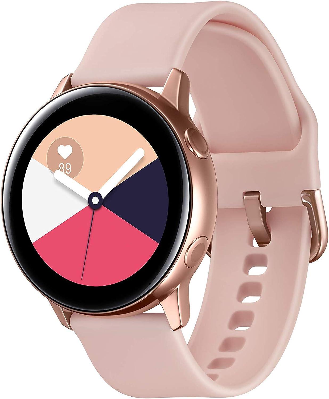 Samsung Galaxy Watch Active Reloj Inteligente Oro Rosa SAMOLED 2,79 cm (1.1