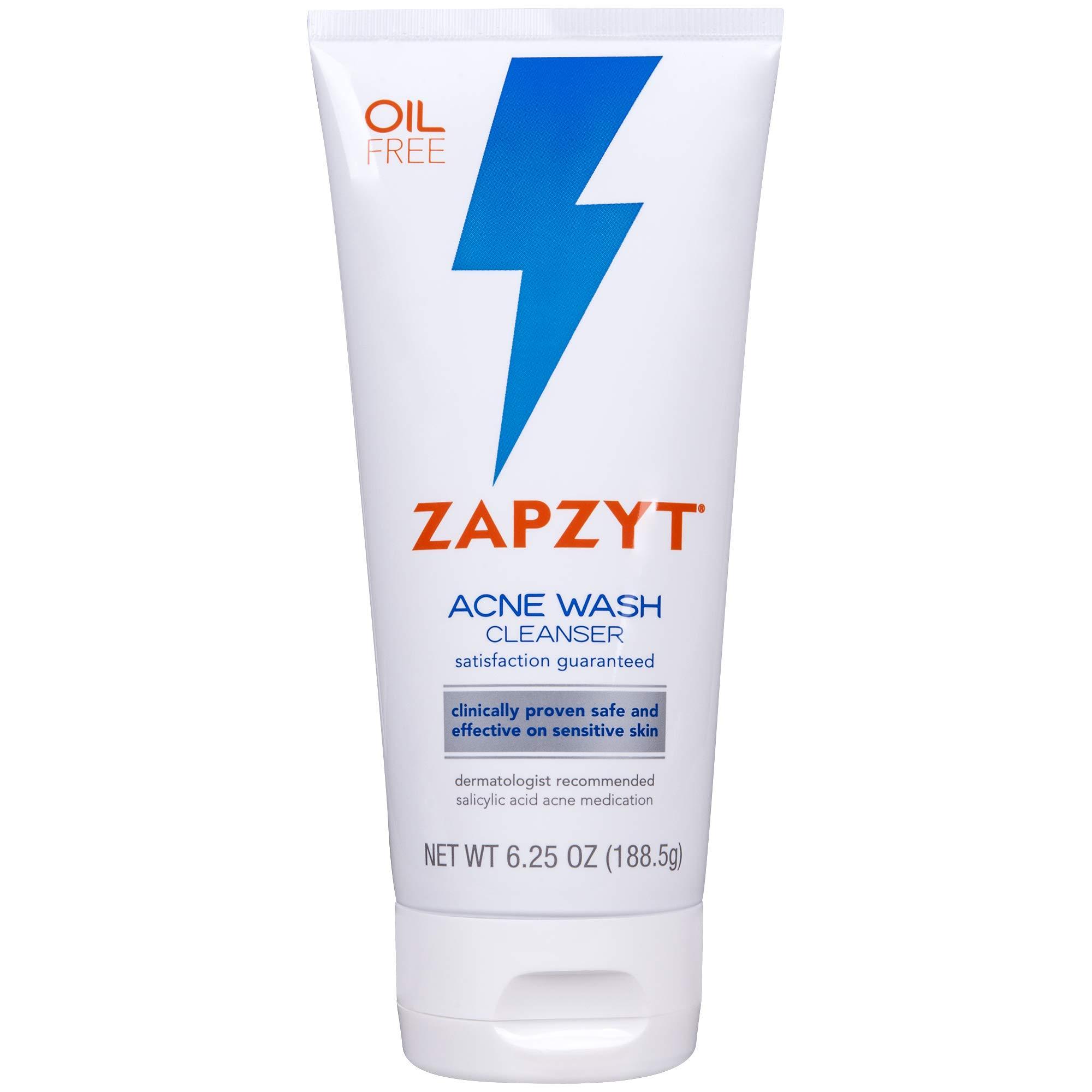 ZAPZYT Acne Wash Treatment For Face & Body - 6.25 oz