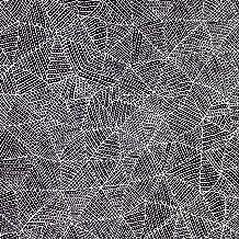 Australian Aboriginal fabric, Bush Plum & Waterhole Black by June Bird