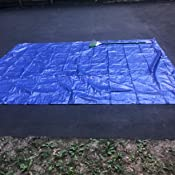 Blue 2x3m Criscolor 407532 Multi-Purpose Tarpaulin
