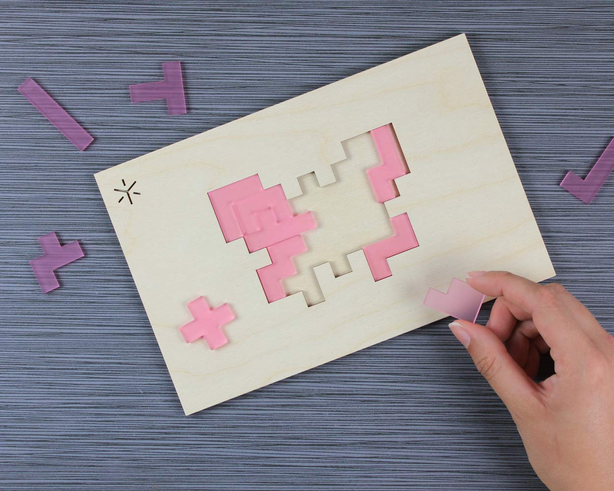 Butterfly Pentomino Puzzle