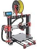 BQ Prusa i3 HEPHESTOS Kit Stampante 3D, Rosso