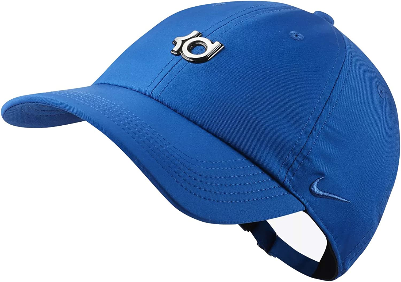 Amazon.com: Nike Men`s KD Heritage 86 QS Adjustable Basketball Hat (Blue  Jay (AA3925-408) / Blue Jay/Blue Jay, One Size): Clothing
