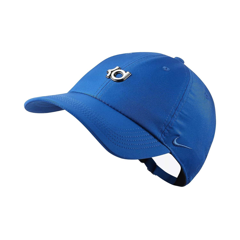 Amazon.com  NIKE Men`s KD Heritage 86 QS Adjustable Basketball Hat (Blue  Jay (AA3925-408) Blue Jay Blue Jay 5acf1421fbf