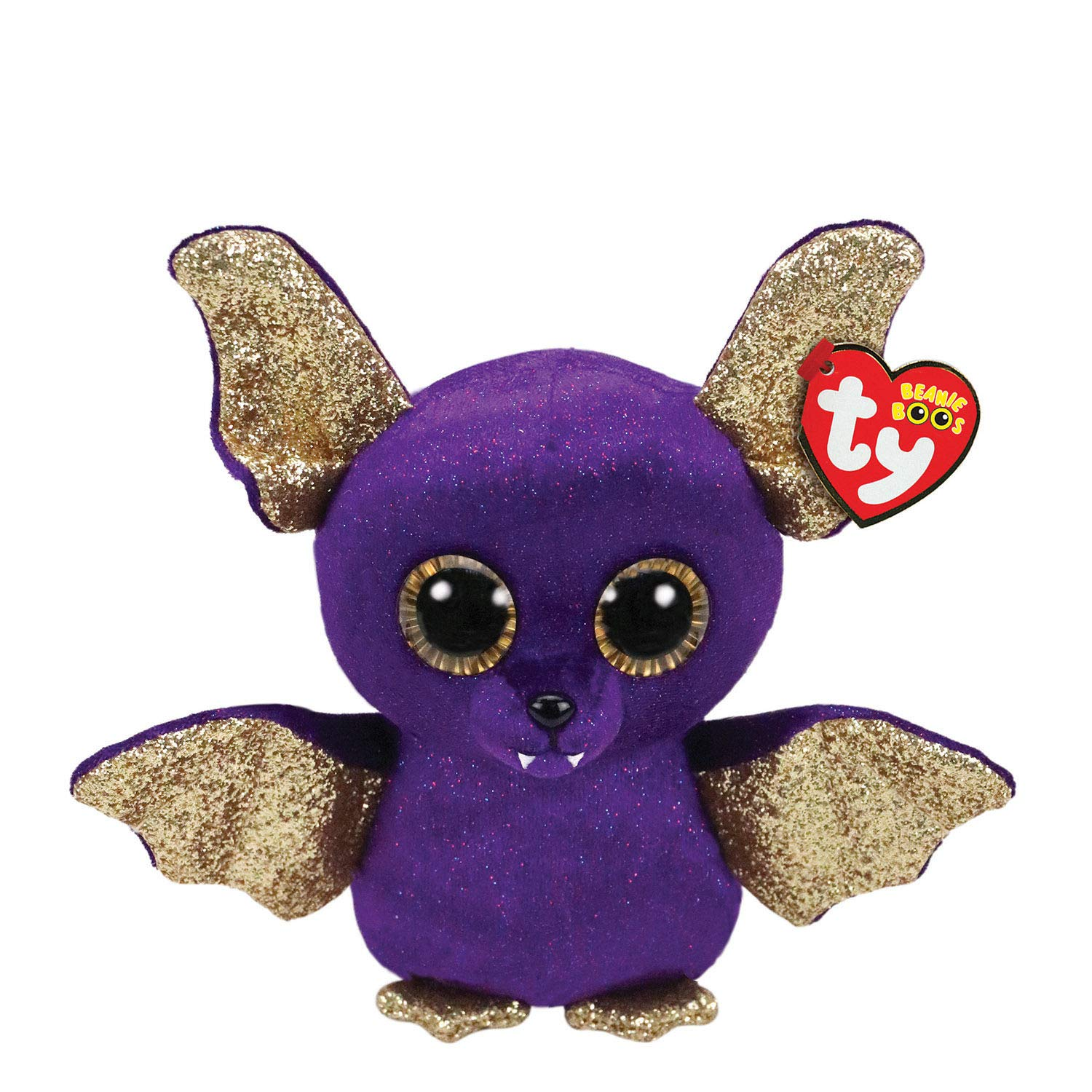 8c0d2aa21eb Amazon.com  Ty Beanies Claire s Girl s Boo Small Count The Bat Plush Toy  Ty  Beanies  Toys   Games