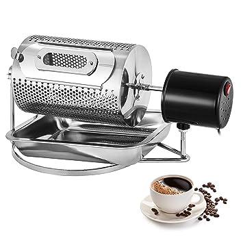 Moracle Tostadores de Café de Gran Capacidad 220V Tostadora Granos de Café Máquina para Hornear Café en Grano de Acero Inoxidable (40W 600G): Amazon.es: ...