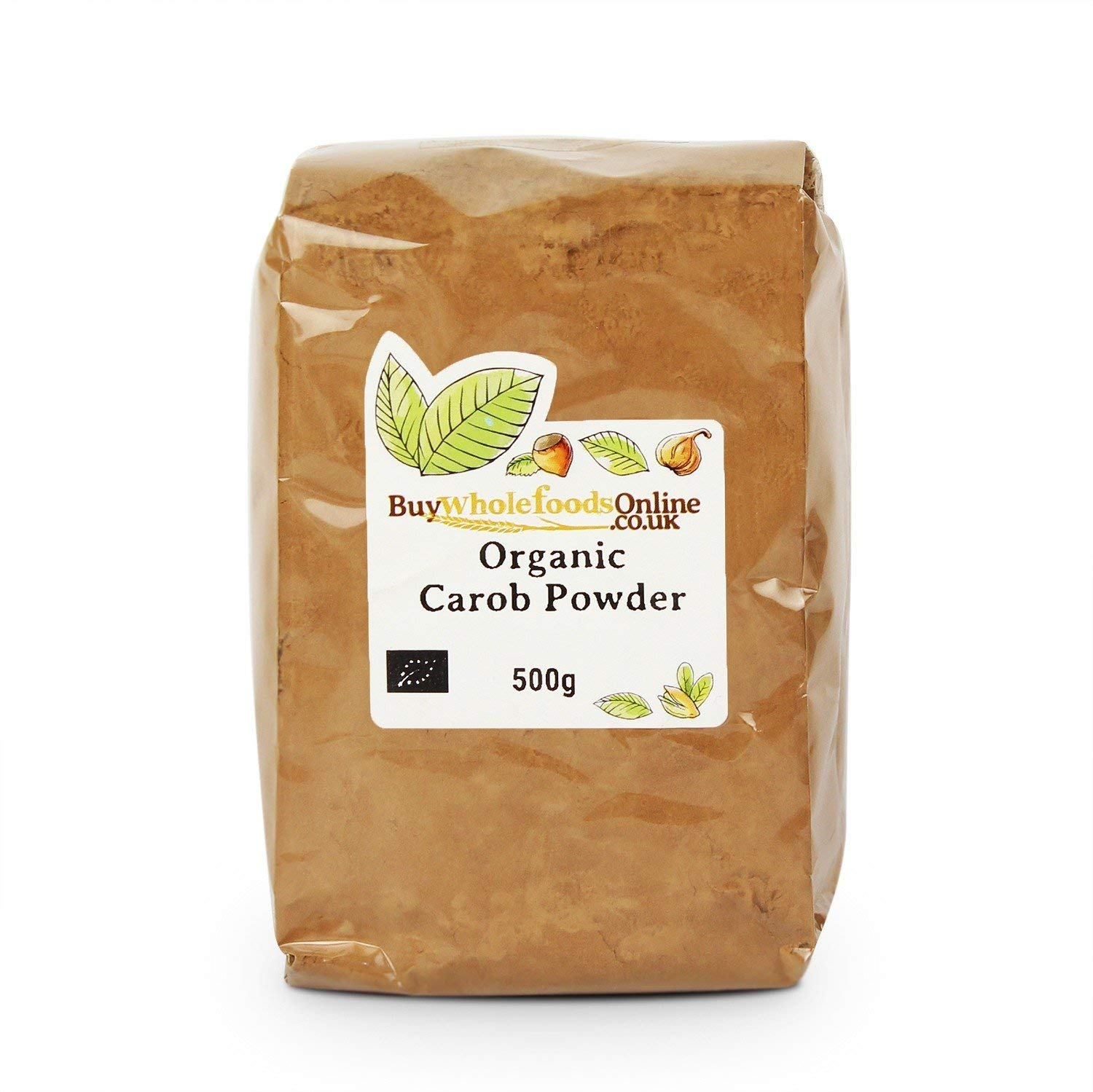 Organic Carob Powder 500g (Buy Whole Foods Online Ltd.)