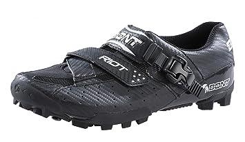 Bont Riot - Zapatillas MTB Hombre - negro Talla 43 2016