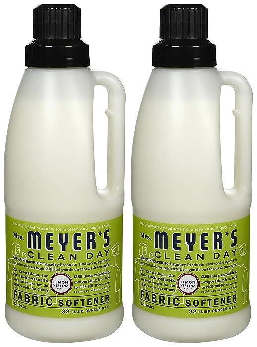 Mrs. Meyer's Clean Day Fabric Softener - Lemon Verbena - 32 oz - 2 pk