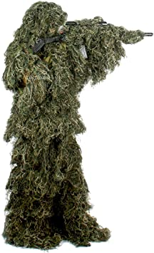Amazon.com: Auscamotek Ghillie - Traje de camuflaje para ...