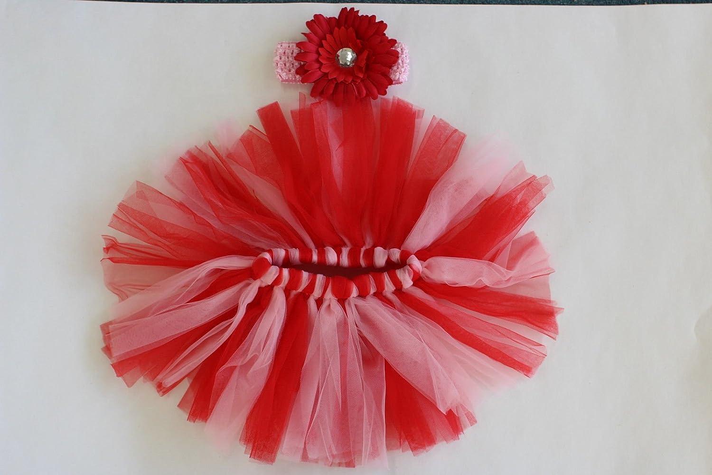 Traje para bebé recién nacido de tutú, falda de flores de punto para bebé 1 Matissa Ltd