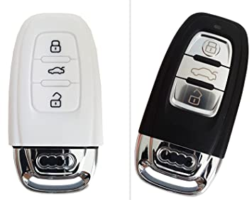 CK Audi Car Key Keyless Case Cover Case Silicon For Amazoncouk - Audi car key