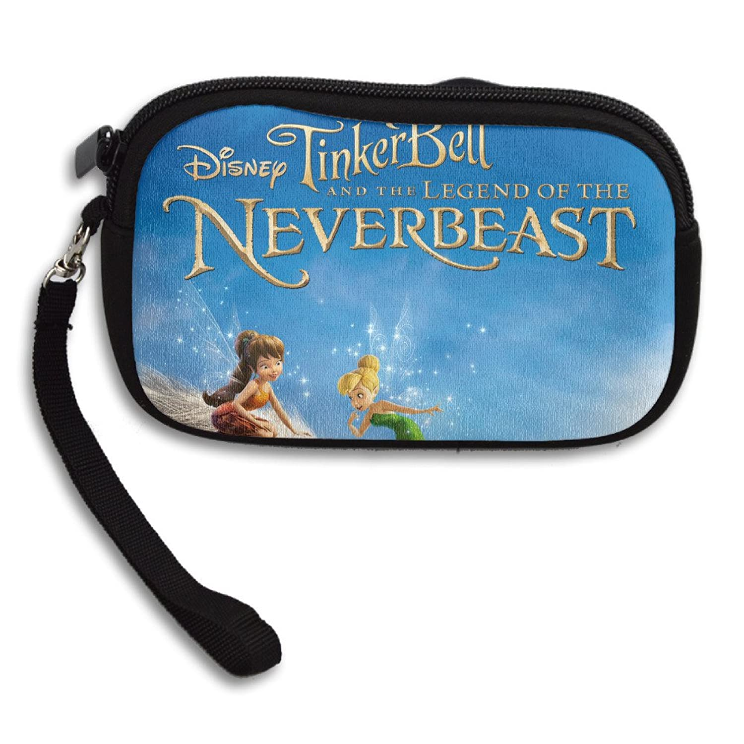 Tinker Bell Legend Of The NeverBeast Wristlet Pouch Coin Wallet