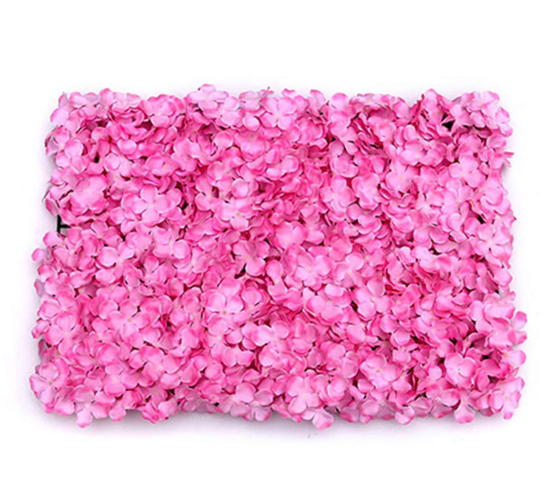 C&L 造花 ウェディング アレンジメント シミュレーション アジサイア オーナメント ローズデカレーション 展示 ダリアアーチ B07GQ2B6HK Hydrangea Dark Pink