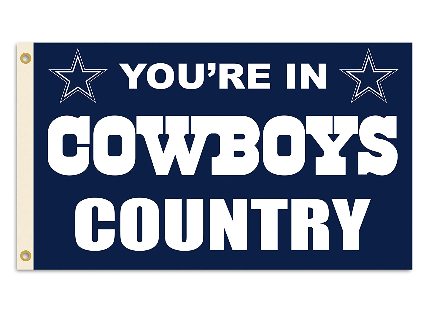 Fremont Die NFL Dallas Cowboys 3 by 5 Foot In Country Flag