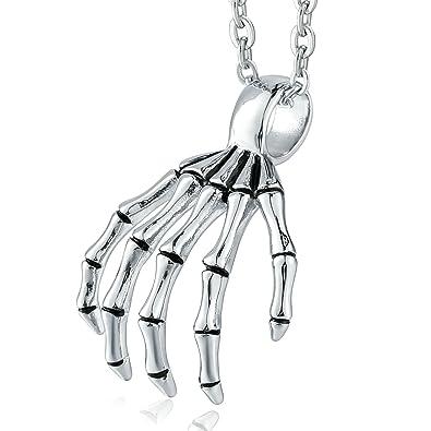Beydodo Collar 1PCS Colgante Acero Inoxidable Mujer Hombre ...