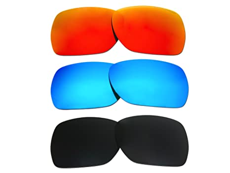 69beb395cb Amazon.com  3 Pairs Polarized Replacement Lenses for Oakley ...