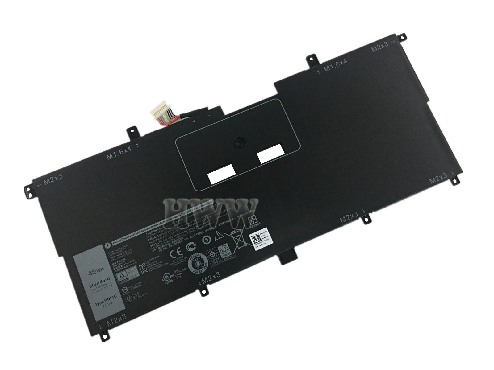 ZTHY NNF1C Laptop Battery Replacement for Dell XPS 13 9365 2in1 ...