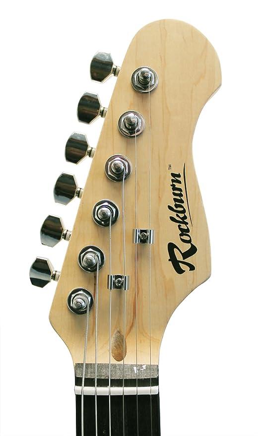 Technote ST1-RD - Guitarra eléctrica, color rojo: Amazon.es: Instrumentos musicales