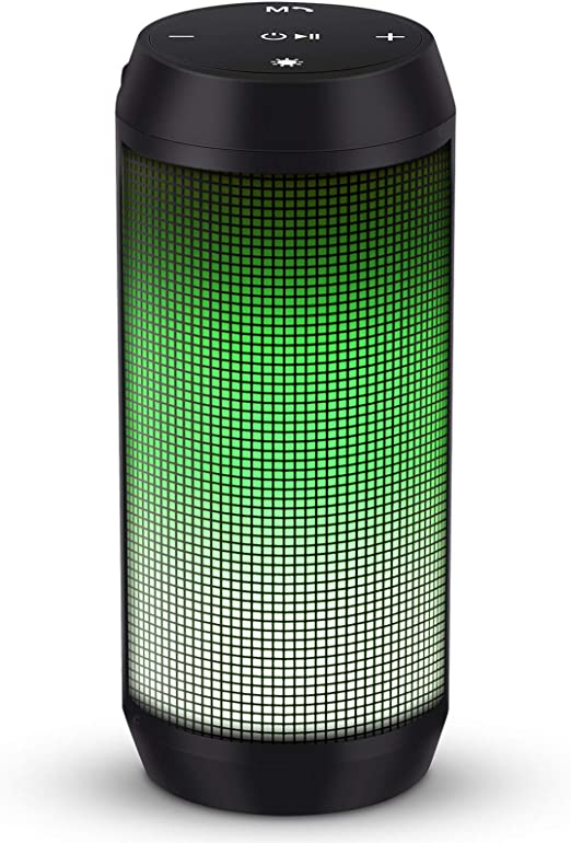 Amazon.com: ELEHOT Bluetooth Speaker Portable Wireless with Lights, Stereo Loud Volume, TWS Dual Pairing Speaker with Subwoofer Outdoor 1 PC: Home Audio & Theater
