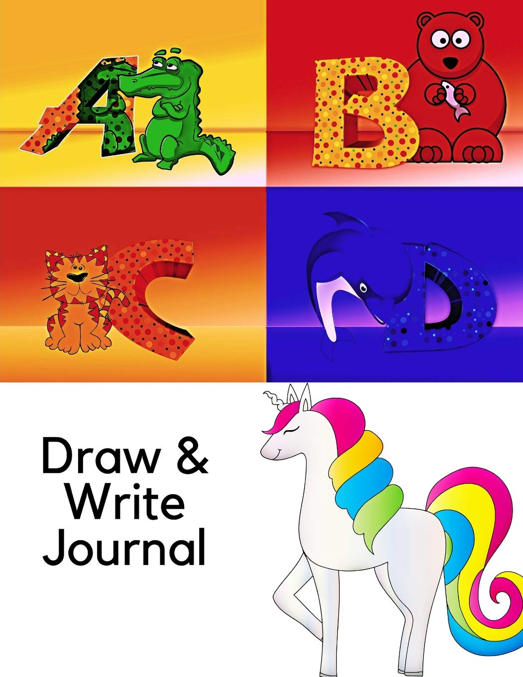 Draw and Write Journal: 134 pages of Primary Writing Lines