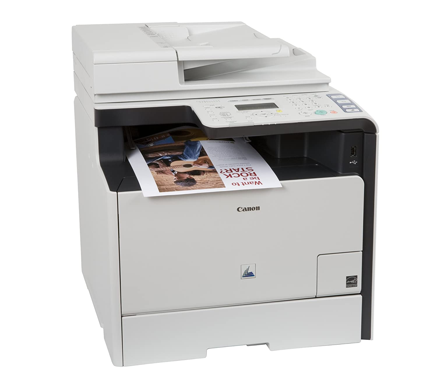 Canon Lasers Color imageCLASS MF8380Cdw Wireless Color Printer with Scanner, Copier and Fax (5120B001AA)