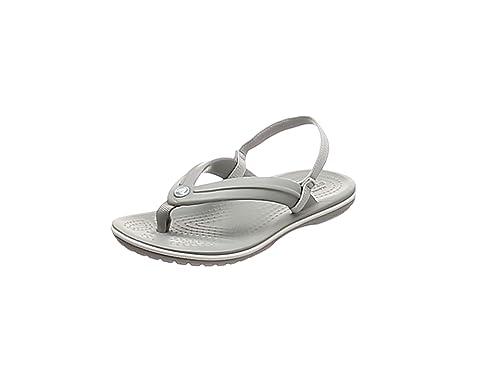 0e2f3ee65387 Crocs Unisex Crocband Strap Flip Kids Flops  Amazon.co.uk  Shoes   Bags