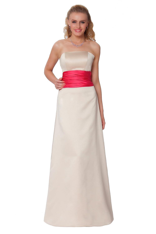 SEXYHER Gorgeous Full Length Strapless Bridesmaids Formal Evening Dress - EDJ1575