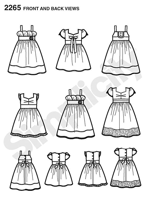 Simplicity 2265 Inspired by Inspired by Project Runway - Patrones de ...