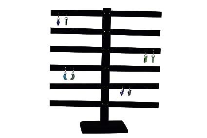 Black Velvet Earring Display Stand Amazon Regal Pak ® Black Velvet 41Bar Earring Display 41 15